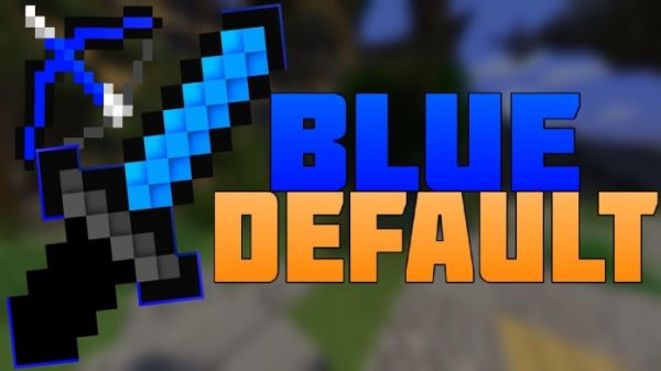 Blue Default PvP Texture Pack for Minecraft by Pack Nation