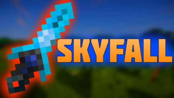 Skyfall Animated PvP Texture Pack 1.7/1.8