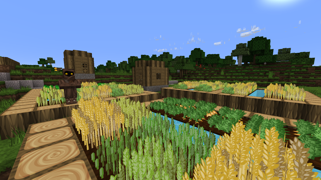 SphaxPureBD Craft Resource Pack: Village