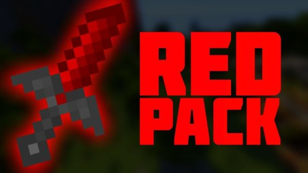 Minecraft PvP Texture Pack Red 1.9.4, 1.8.9, 1.7.10