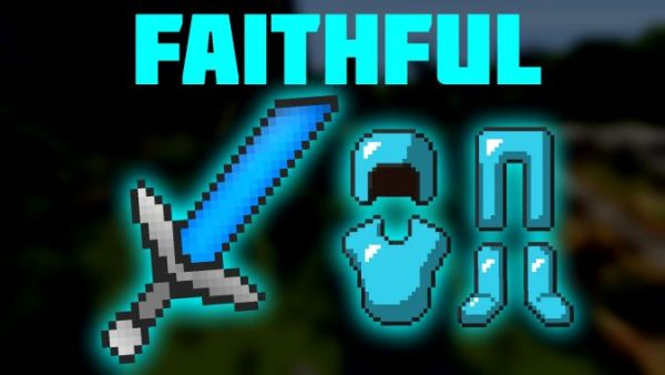 Minecraft PvP Texture Pack Clean Faithful 1.9.4