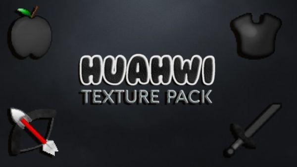 Huahwi Black & White Minecraft PvP Texture Pack