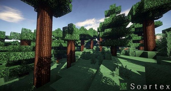 Soartex Fanever Resource Pack: Forest