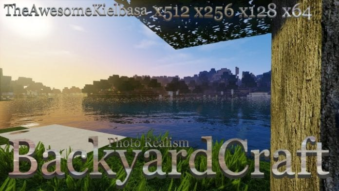 BackyardCraft Resource Pack for Minecraft 1.11.2, 1.11, 1.10.2