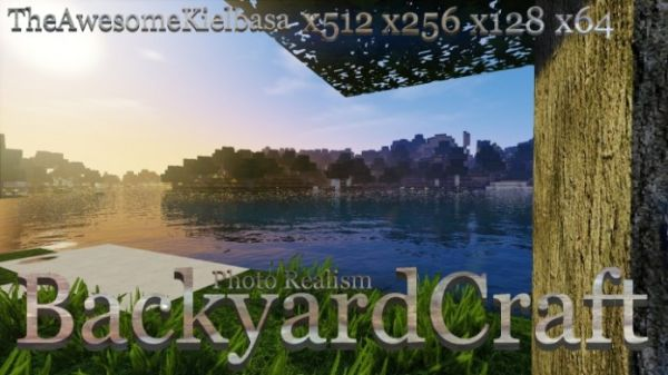 BackyardCraft Resource Pack for Minecraft 1.11.2, 1.11, 1.10.2