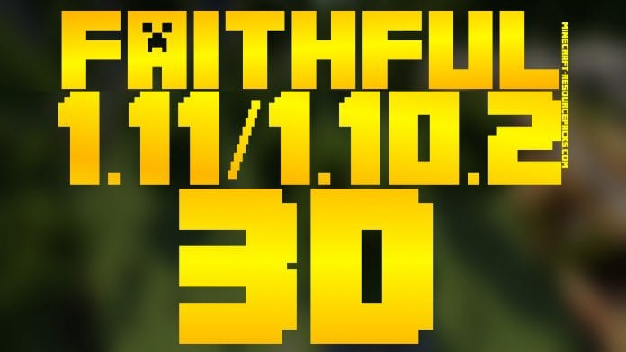 Faithful 3D Resource Pack for Minecraft 1.12.2, 1.12, 1.11.2, 1.10.2, 1.10, 1.9