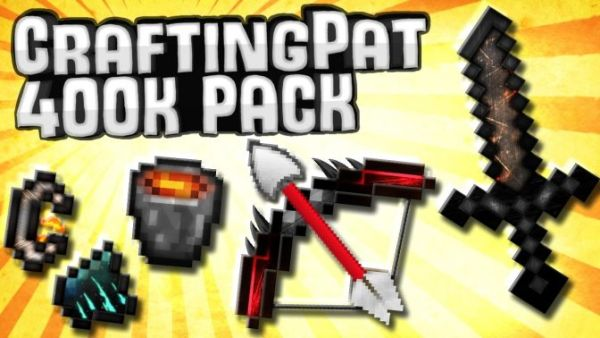 CraftingFabo Resource Pack 400k
