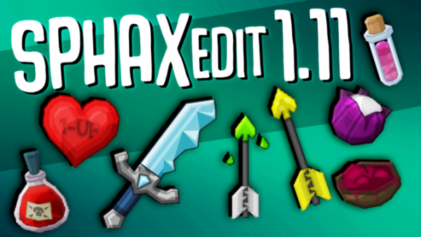 Sphax PvP Texture Pack 1.11/1.11.2/1.10