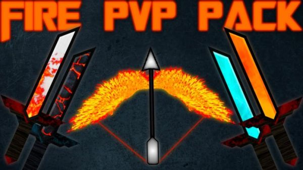 Fire PvP Texture Pack by Jaba 1.8.8/1.8.6/1.8