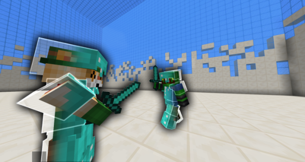 Invisible Armor Challenge Texture Pack