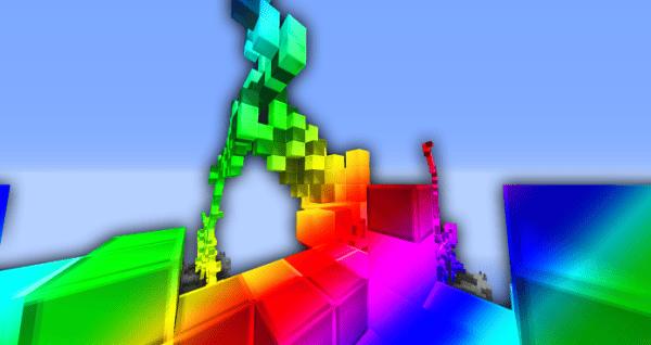 Rainbow Texture Pack BedWars Challenge