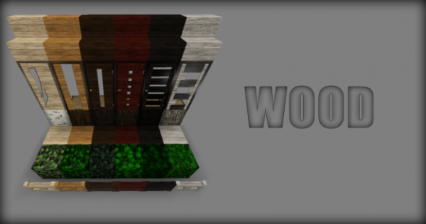 Smooth Realistic Resource Pack 1.12 Wood