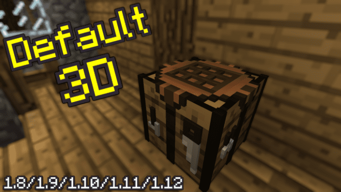 Minecraft Default 3D 1.14.2 / 1.14