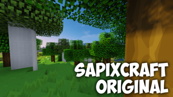 SapixCraft Resource Pack 1.12.2/1.12