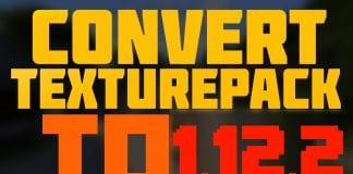 Convert Texture Pack to 1.12