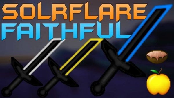Solrflare Faithful PvP Texture Pack 1.9.4/1.8.9 LowFire