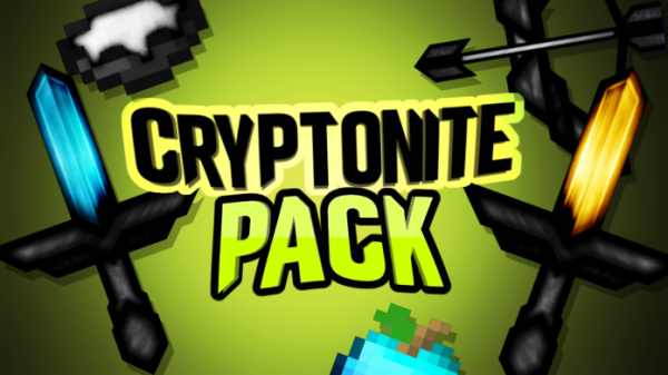 Cryptonite PvP Texture Pack for Minecraft 1.12.2, 1.12, 1.11.2, 1.10, 1.9, 1.8, 1.7