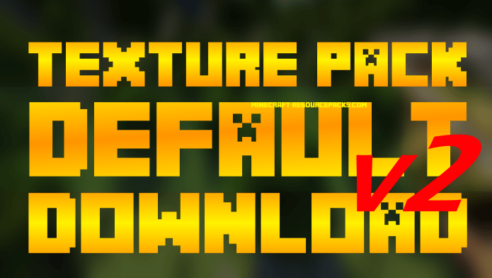 Minecraft Default Resource Pack