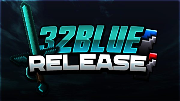 32Blue 64x Revamp PvP Texture Pack Release