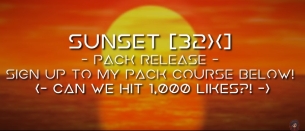 Sunset 32x PvP Texture Pack