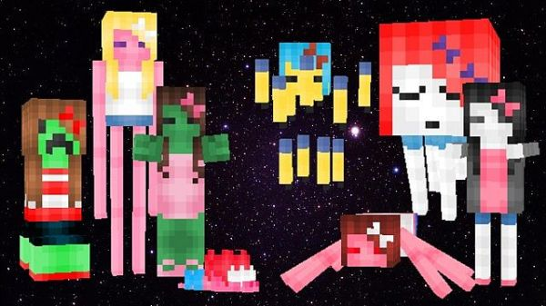 Fashionable Mobs Resource Pack 1.7.10
