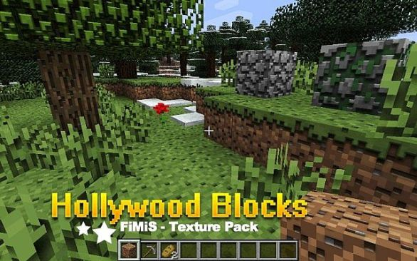Hollywood Blocks Resource Pack 1.7.10