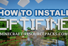 How To Install OptiFine 1.14.4