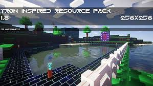 Tron Inspired Resource Pack 1.8.8