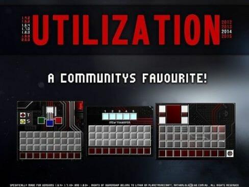 Utilization Resource Pack 1.8.8