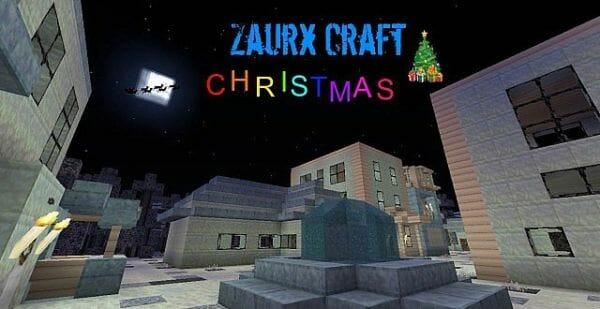 Zaurx Craft Christmas Resource Pack [32x]