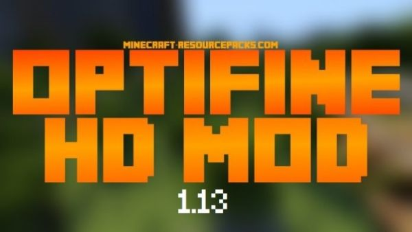 Optifine 1.13