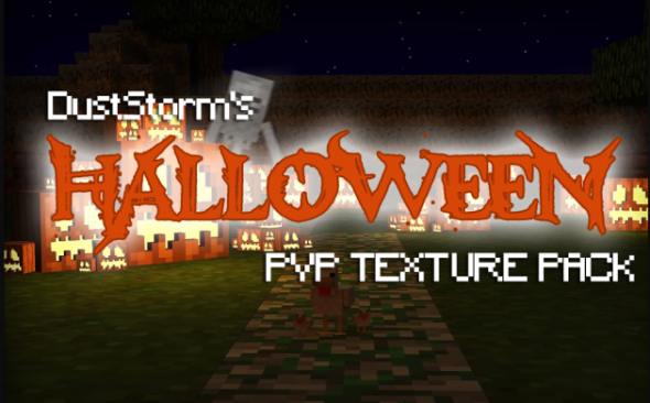 Halloween PvP Texture Pack 1.8 by DustStorm [32x]