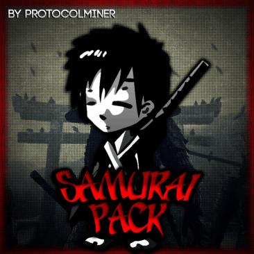 Minecraft Samurai PvP Texture Pack - credits