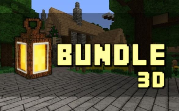 Bundle 3D Resource Pack 1.11.2