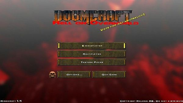 Doom Craft Resource Pack 1.12.2