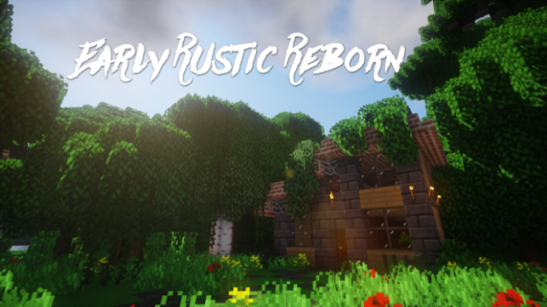 Early Rustic Reborn Resource Pack 1.12.2