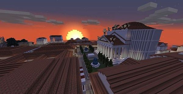 RomeCraft Resource Pack 1.11.2