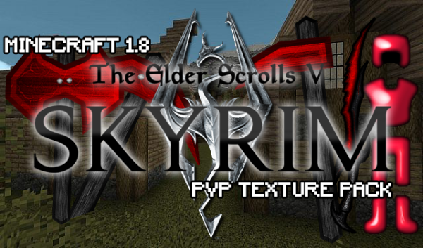 Skyrim PvP Texture Pack 1.8