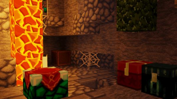 Christmas PvP UHC Texture Pack - blocks