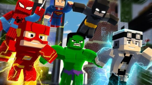 Minecraft Mods 1.14.4 - Superheroes unlimited Mod