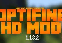 OptiFine 1.13.2