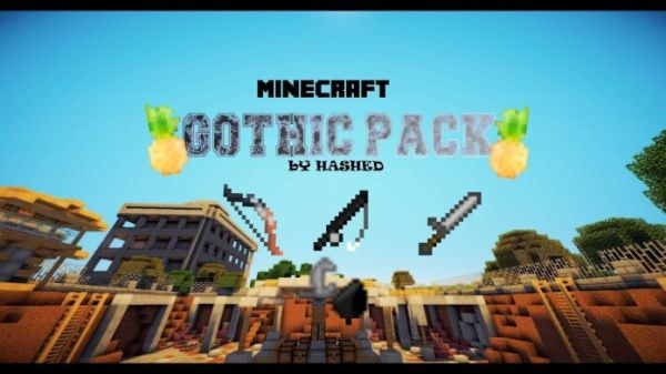 Gothic PvP Texture Pack 8×8 FPS