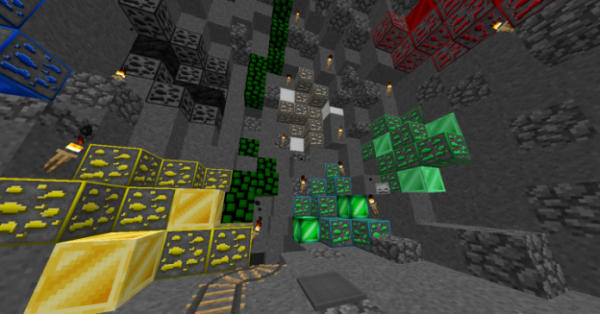 Green Leaves PvP Texture Pack - 3