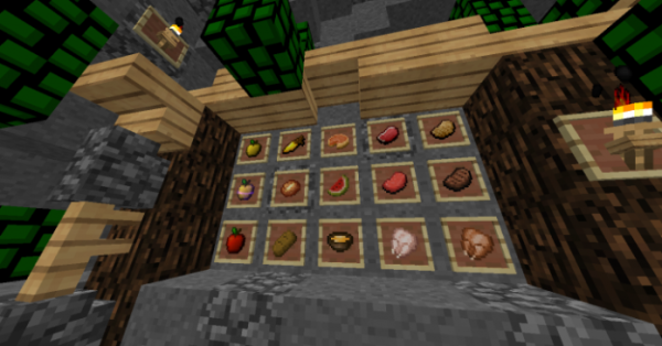 Green Leaves PvP Texture Pack - 4