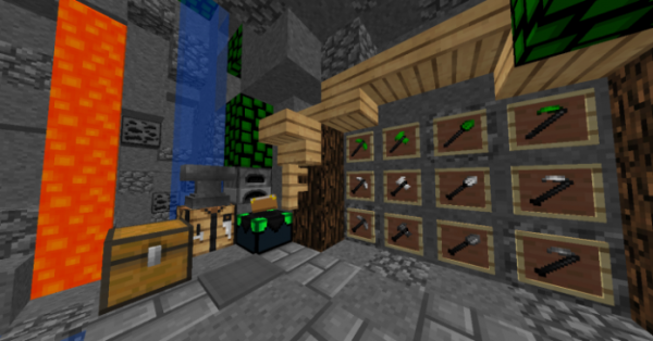 Green Leaves PvP Texture Pack - 5
