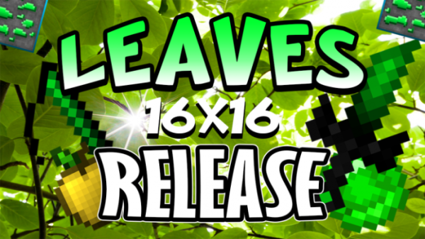 Green Leaves PvP Texture Pack (16x) for Minecraft 1.8