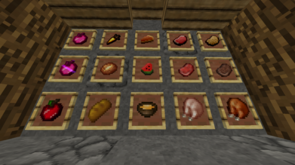Strawberry Mentos PvP Texture Pack - 2