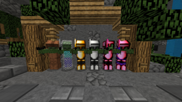 Strawberry Mentos PvP Texture Pack - 4