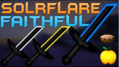 Solrflare Faithful PvP Texture Pack 1.9.4/1.8.9