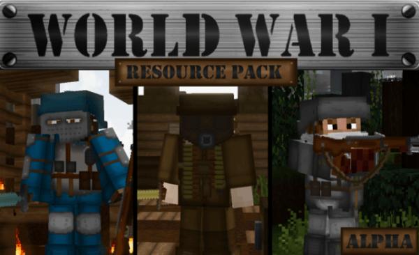 Top 10 Minecraft 1.14 Texture Packs - World War I PvP Texture Pack